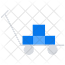 Trolley Parcel Trolley Box Trolley Icon