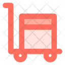 Trolley Shipping Box Icon