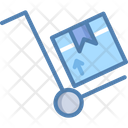 Trolley Forklift Cart Icon