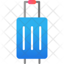 Trolley Travel Suitcase Bag Icon