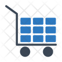 Trolley Bricks Handtruck Icon