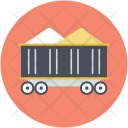 Trolley Gold Mining Icon
