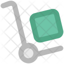 Trolley Luggage Shopping Icon