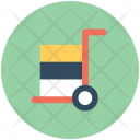Trolley Platform Truck Icon