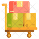 Trolley Package Trolley Shipping Trolley Icon