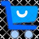Trolley Chart Trolley Bag Icon