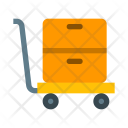 Trolley Handtruck Box Icon