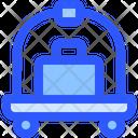 Hotel Service Trolley Icon