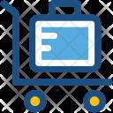 Trolley Luggage Hotel Icon