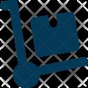 Trolley Luggage Platform Icon