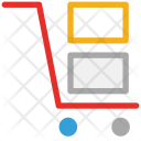 Trolley Hand Cart Icon