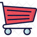 Trolley Shopping Sales Icon