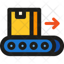 Trolley With Box Icon