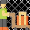 Man Travel Tourist Icon