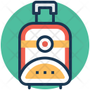 Wheel Bag Luggage Icon
