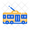 Public Transport Trolley Icon
