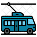 Trolley Bus Streetcar Icon