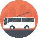 Service Bus Trolley Icon