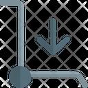 Trolley Down Icon