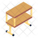 Table Trolley Table Furniture Icon