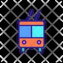 Public Transport Trolleybus Icon