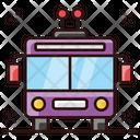 Trolleybus Tramcar Tramway Icon
