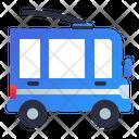 Trolleybus City Transportation Icon