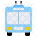 Trolleybus Bus Automobile Icon