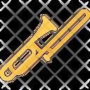 Trombone Trumpet Tuba Icon