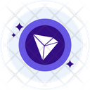 Tron Coin Cryptocurrency Icon