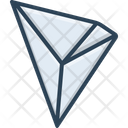 Tron Coin Crypto Currency Icon