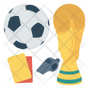 Trophy Soccer Whistle Icon