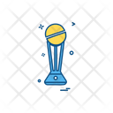 Trophy Cup Cricket Icon