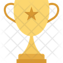 Trophy Award Winning Cup Icon