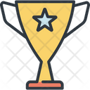 Trophy Winner Prize Icon