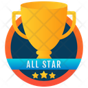 Trophy Gold Cup Chalice Icon
