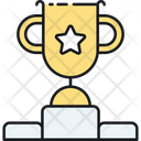 Seo Contest Trophy Prize Icon
