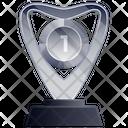 Glass Globe Trophy Award Achievement Icon