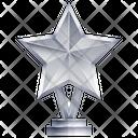 Star Trophy Award Achievement Icon