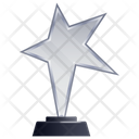Star Trophy Award Transparent Trophy Icon
