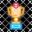 Champion Cup Cricket Icon