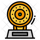 Trophy Dish Gold Icon