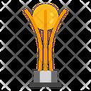 Trophy Globe Gold Icon