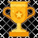 Trophy Award Badge Icon