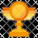 Trophy Star Winner Icon