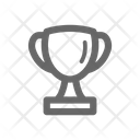Trophy Winner Badges Icon