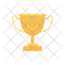 Trophy Award Bitcoin Icon