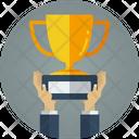 Trophy Winind Winer Icon