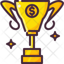 Kickstarter Money Trophy Icon
