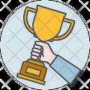 Business Achievement Trophy Icon